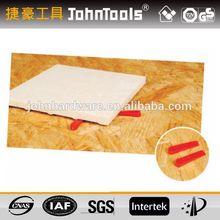 plastic spacer wedge for building floor tile