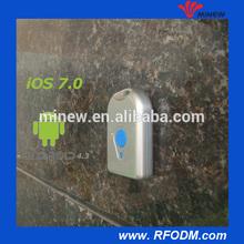 internal antenna press button iOS 7 indoor advertising beacon waterproof UUID Major Minor changed iBeacon with bluetooth module