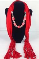 Fashion lady pendant beads large for scarf