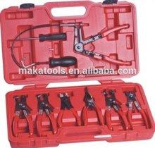 9PCS Flexible Hose Clamp Pliers Tool Set Auto Repair Tools