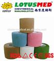 Oem lotusmed médicos no- tejido elástico cohesivo vendaje cohesivo vendaje