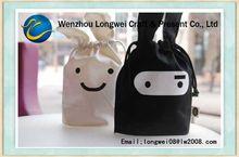 jute shopping bag wholesale/nylon drawstring bag/nonwoven travel bag
