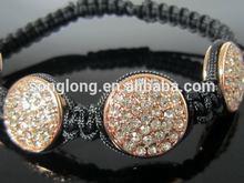 Top grade high-end 4 in 1 bio magnetic titanium bracelet