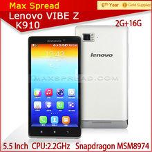 Quad-core 2.2GHz Lenovo k910 3g wifi dual sim android phone pear phone price