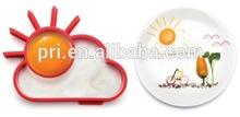 New mini sun shape silicone fried egg cooking tools