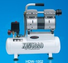 550W Mini Oil -free Low-noise Air Compressor for Sale 60L/min HDW-1002