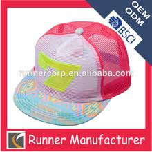 customized sticker neon plastic letters snapback hat