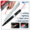 Multi Function Pen Drive , Capacitive Stylus with Laser Pointer Led Light USB Drive , best selling 2014