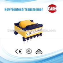 EER Type High Voltage Power High Frequency Ferrite Transformer