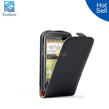 Ultra Slim Leather flip cover case for HTC Desire 501