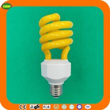 2014 ningbo new product ISO UL CE LVD EMC RoHS SASO approved fluorescent color energy saving bulb light