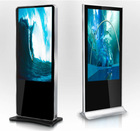 65 Inch touch screen floor standing lcd digital displays advertising