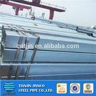 galvanized square steel piping