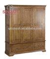 Mobiliário de carvalho, madeira maciça de carvalho armário/armoire