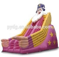 Happy Hop Cheap christmas theme inflatable big slide,amusing inflatable slides