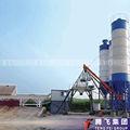 planta de mistura concreta hzs50 betão mixer plano