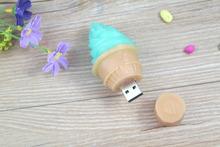 promotion gift for ice cream custom ice cream shape usb flash drive pen drive