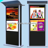 55 inch free standing 3g wifi outdoor monitor led display