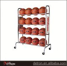 High quality metal basketball ball rack