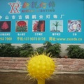 Diodo emissor de luz da árvore, jardim decoração cactus levou luzes da árvore, novo design pet mini cactus