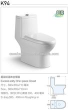 Super Siphon jet flush low water comsuption one piece ceramci bathroom toilet chaozhou new toilet set