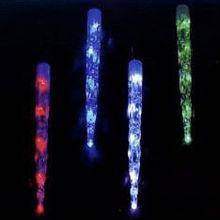 color changing icicle christmas led lighting