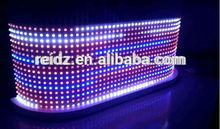 amazing RGB DVI aluminum table for dj for sexy night club