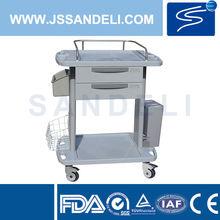 SKR-CT031 ABS surgical instrument nursing trolley, instrument nursing cart
