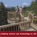 A prueba de agua WPC de madera de vinilo jardín puente WS-DX25-150B