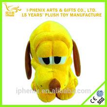 Popular with children funny design stuffed plush dog cute big eyes plush dog wholesale