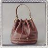 pure leather large capacity bucket bag women handbags