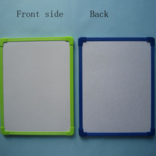 PVC frame children magnetic whiteboard