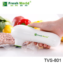 Fresh World handy smart vacuum sealer ,manual tray sealer,TVs801