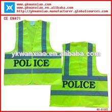 YONGKANG green polyester mesh safety vest,reflective safety vest motorcycle