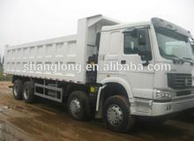 HOWO 8x4 SINOTRUK Stock New White Dump Truck
