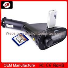 2014 Hotsale FM transmiter, bluetooth handsfree car kit mp3 player,smart car mp3 player