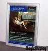 Aluminum picture frame led light box
