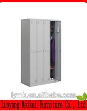 4 door clothing steel locker/wardrobe cheap folding cupboard wardrobe