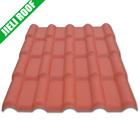 PVC roof tile Spanish/Roma/Europe plastic resin roofing