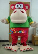 Animal costume/Wearing fur costume/Acting costume/Cartoon Performing costume.