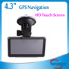 """4.3"""" HD Touch Screen GPS FM MP3 MP4 Car Navigation System RW-GN02"""