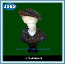 custom antique élégante dame buste en marbre pour la vente