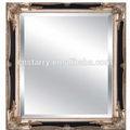نحت الخشب العتيقة الجدار مرآة الإطار، الزخرفية إطار الصورة