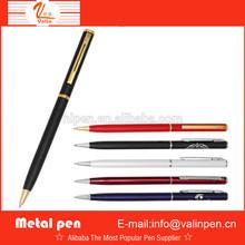 fashion metal ballpoint pen in Guangzhou/ new metal pen /promotional ballpoint pen