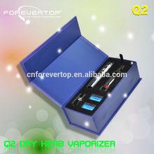 Fabricante de porcelana de agua los cigarrillos de vapor tuta Q2 original shenzhen de productos electrónicos de la cachimba cabeza Q2 vaporize