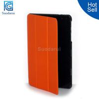 Luxury folio stand cover Flip leather case for DELL venue 8 Pro