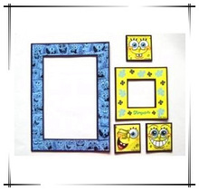 Magnet acrylic photo/picture frame; Beautiful photo frame; Thin photo frame; Funny photo frame