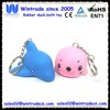 PVC animal keychain rubber dolphin & sea lions