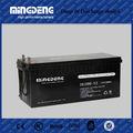 agm 200ah 12v bateria solar