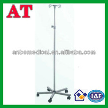 hospital or clinic stainless steel medical drip stand